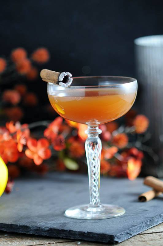 The Clove and Cider- A Bourbon Cocktail with Drizly