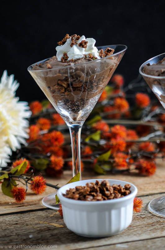 Double Chocolate Kalhua Parfait With Bear Naked Granola