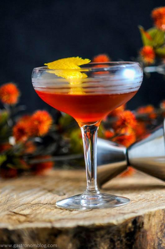The Ginger Snap – A Scotch Cocktail