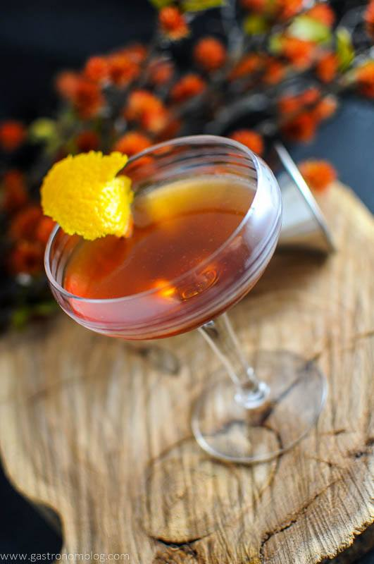 The Ginger Snap - a Scotch Cocktail
