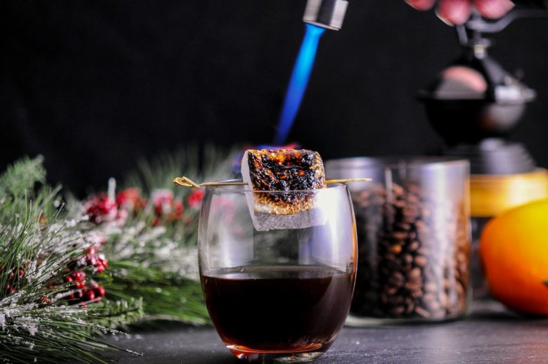 The Roast and Toast - A Bourbon and Coffee Cocktail