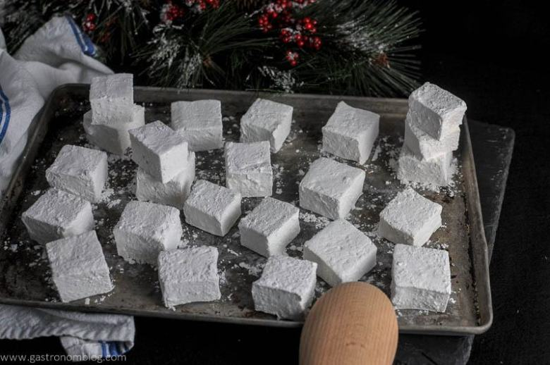 Peppermint Vodka and Kahlua Mocha Marshmallows