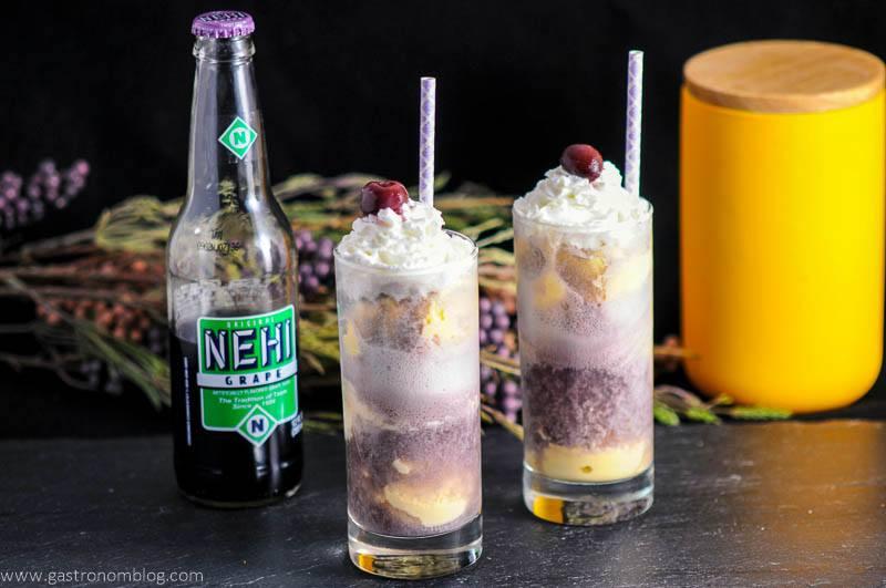 Adult Purple Cow with Nehi Grape Soda