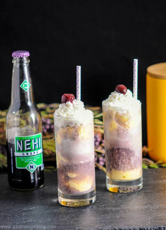 Adult Purple Cow with Nehi Grape Soda
