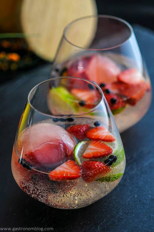 Strawberry Limeade Gin and Tonic