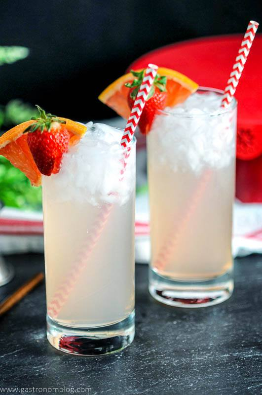 Strawberry Paloma - A Tequila Cocktail