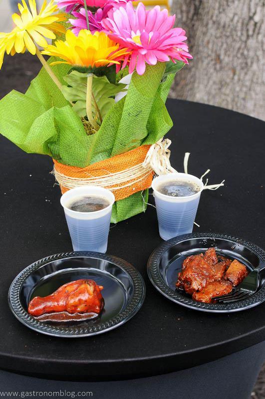 KC Flavor Festival - BBQ Wings and Burnt Ends