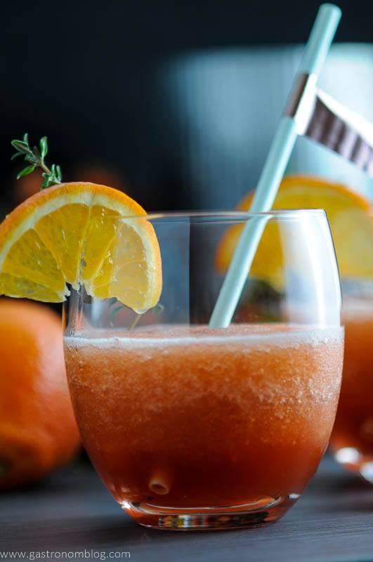Tangerine Frozen Negroni - Negroni Week Campari Cocktail