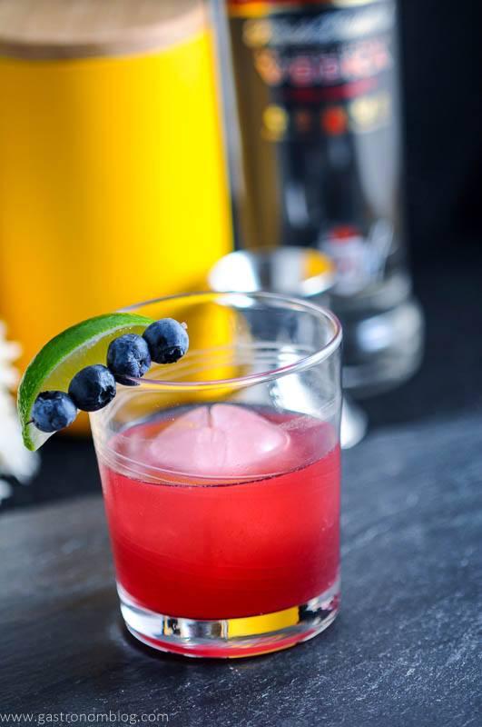 """Desser""""Ted"""" Blueberry Pie Cocktail with Smirnoff Vodka"""