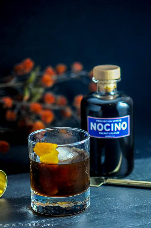 Nocino Old Fashioned