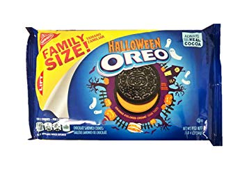 Oreo Limited Halloween Cookie Family Size Pack 1lb 4oz