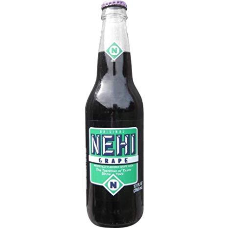 Nehi Grape Soda, 12 Ounce (12 Glass Bottles)