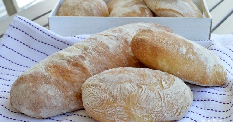 Homemade Ciabatta-Домашна Чиабата