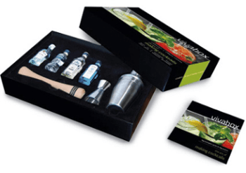 Coffret « cocktails »
