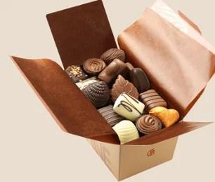 Ballotin de chocolats assortis