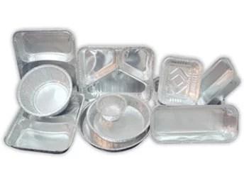 Barquettes alimentaires en aluminium