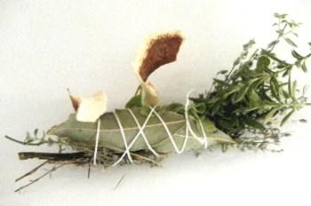 Bouquet garni ficelé