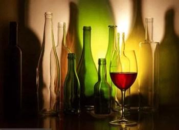 Bouteilles de vin suisses