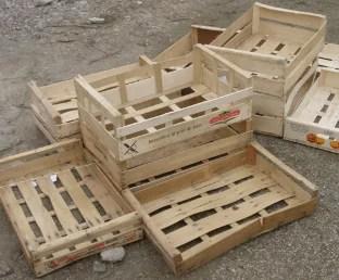 Cageots en bois