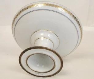 Compotier en porcelaine