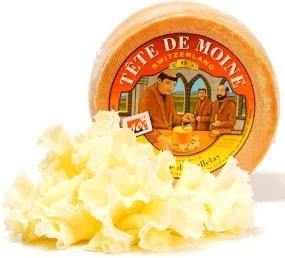 Copeaux de fromage tête de moine