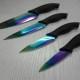 Couteaux au revêtement en titanium