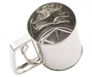 Crible à farine en inox