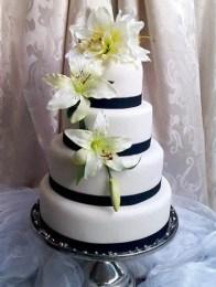 Gâteau aux fleurs de lys