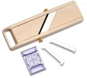 Mandoline en bois multi-lames