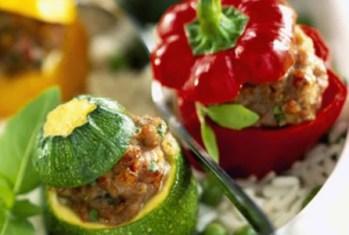 Petits légumes farcis niçois