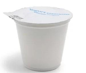 Emballage plastique pour yaourt