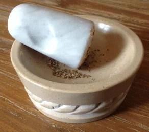Pilon en marbre de Carrare