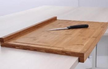 Planche à pâtisserie en bambou