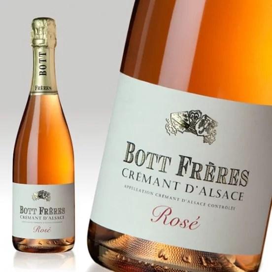 Crémant d'Alsace rosé Bott Frères
