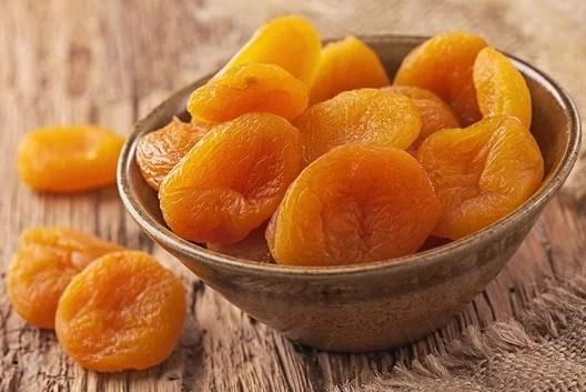 Abricots séchés
