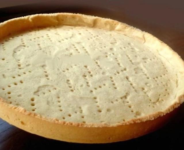 Fond de tarte cuit à blanc