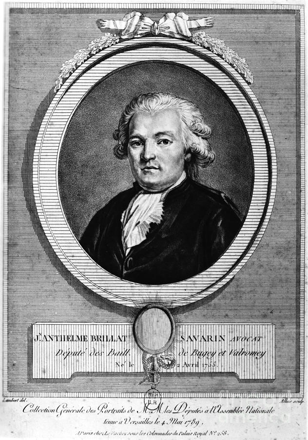 Portrait de Jean Anthèlme Brillat-Savarin