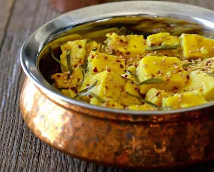 Salade de tofu birman