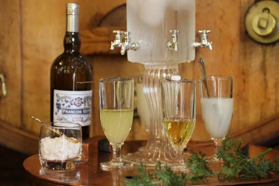 Fontaine à absinthe de Pontarlier