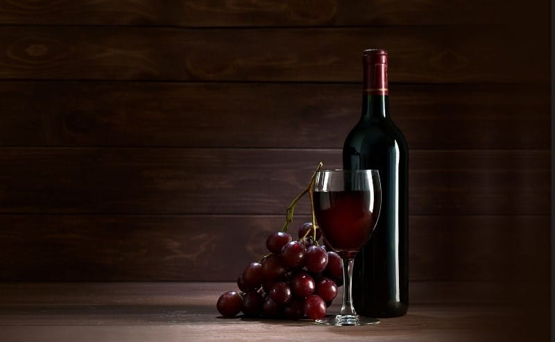 Vin rouge corse