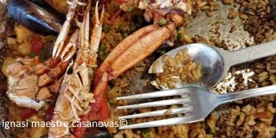 paella de mariscos y pescado ignasi maestre casanovas