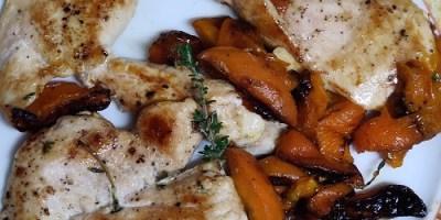 Pollo Con Tomillo Melocoton ignasi maestre