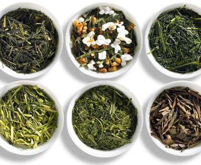 Tipos de té verde japonés