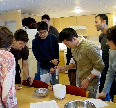 Cocina en la Semana de la Ciencia
