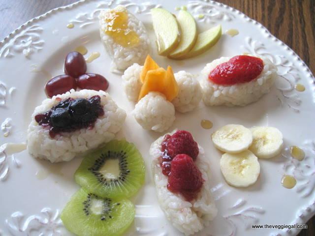 Frushi, receta de The Veggie Gal