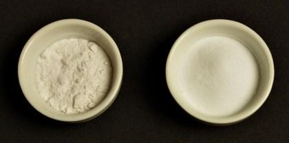 Levadura de repostería y bicarbonato