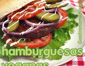 Tutorial: cómo hacer hamburguesas veganas perfectas