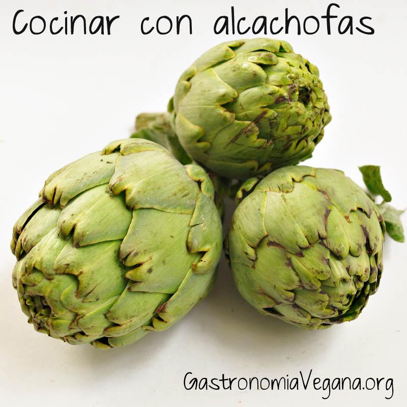 Cocinar con alcachofas