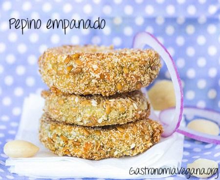 Pepino empanado
