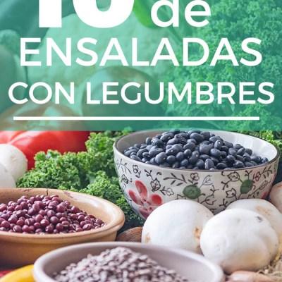 10 ideas de ensaladas con legumbres